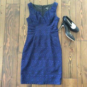 COPY 2/$40: Adrianna Papell 10 Lace Shimmer dress